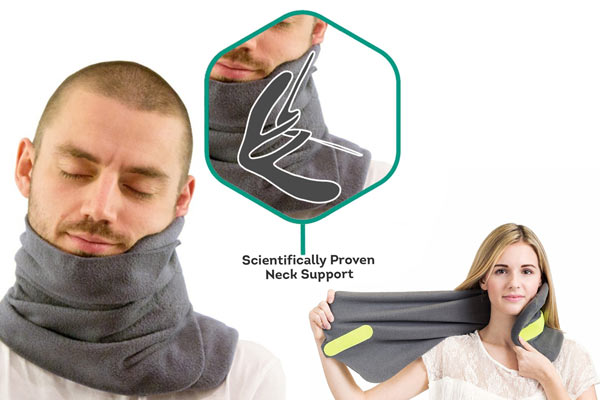 holiday gift guide for men travel pillow