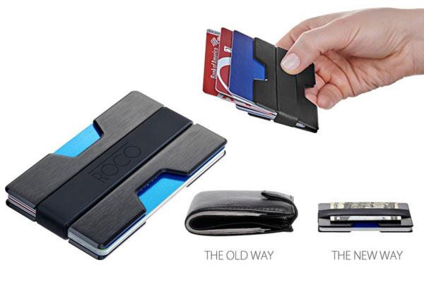 popular gifts for men slim wallet