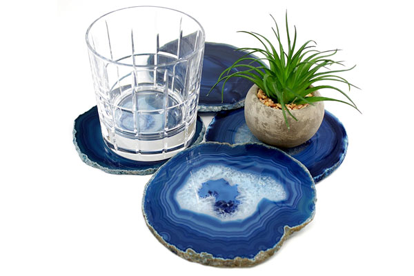 simple gifts for him agate coaster