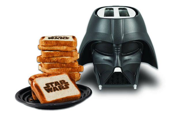 simple gifts for him darth vader toaster