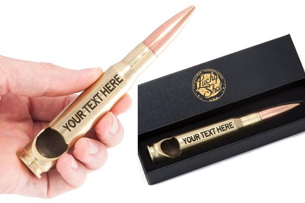 top presents for men bullet bottle opener