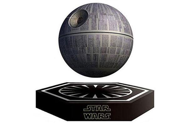 anniversary gift for husband death star floating speaker