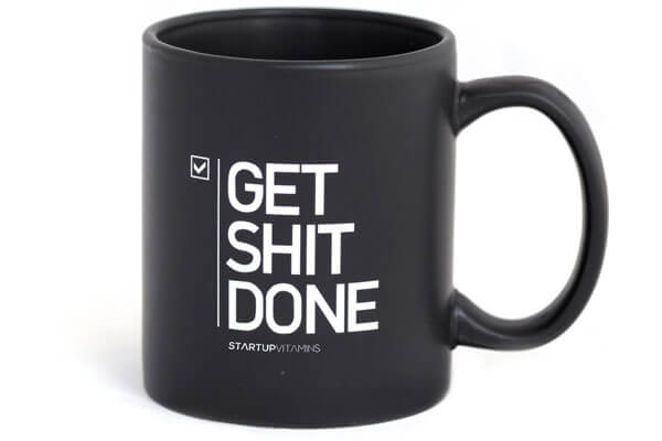 birthday gifts for him get shit done mug