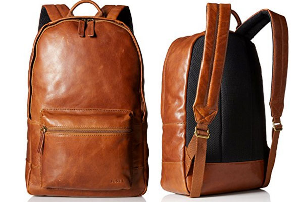 mens backpack leather