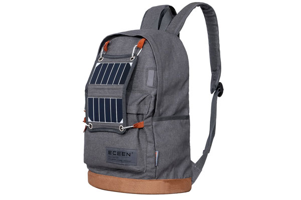 mens backpack solar