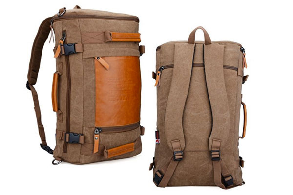 mens backpack weekend travel