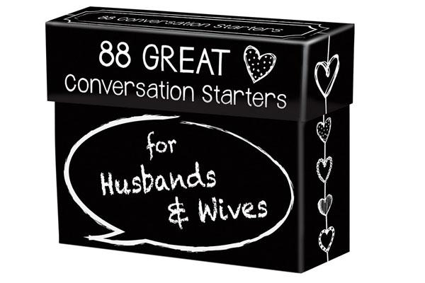 wedding gift for coworker conversation starter