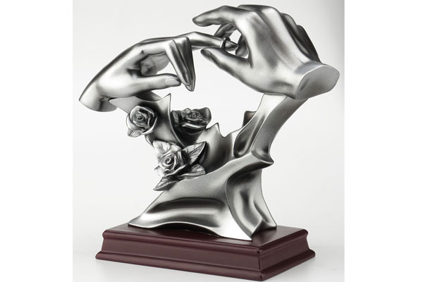 wedding gift for coworker sculpture