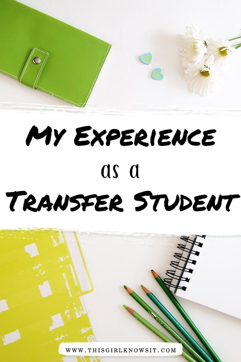 My Experience as a Transfer Student