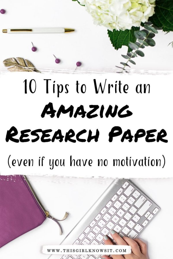 Writing a college paper can be a struggle between finding the correct sources, figuring out your main points, and so much more. But it doesn't have to be! Check out these 10 tips on how to write an amazing college paper (even if you have no motivation). #college #university #student #writing #researchpaper
