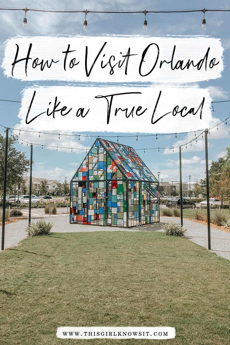A Local's Guide for Exploring Orlando | Tips for visiting Orlando and it's different neighborhoods; a guest post by Samantha of Samanthability | #orlando #florida #orlandofl #travel #travelusa | This Girl Knows It | www.thisgirlknowsit.com