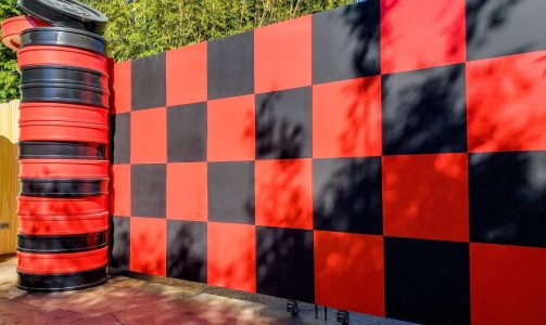 Checker Board Wall at Disney's Hollywood Studios