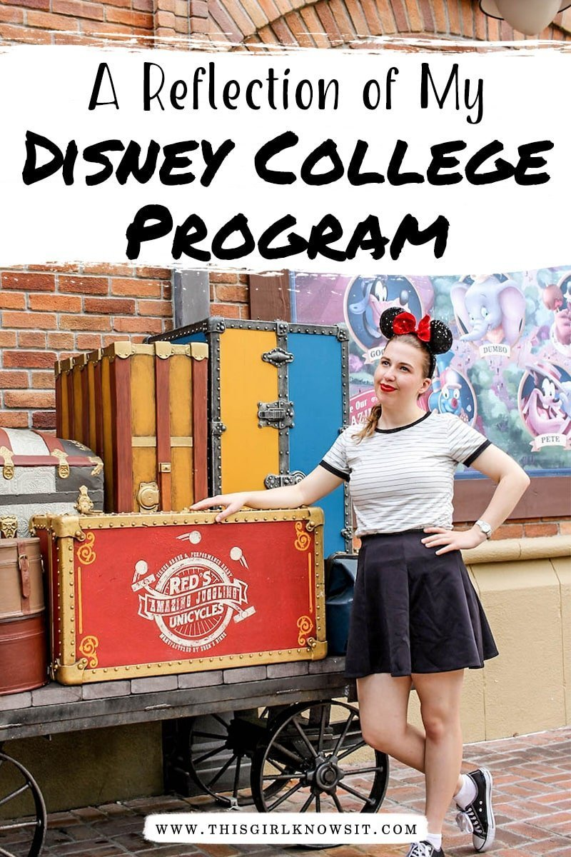 A Reflection of My Disney College Program Experience