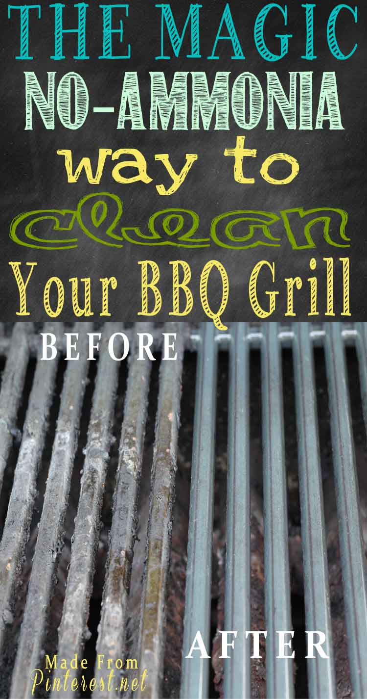 Magic No Ammonia Way To Clean Your Bbq Grill Tgif This Grandma Is Fun