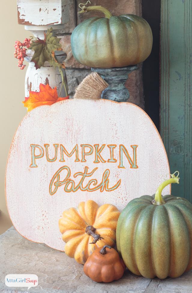 Painted Metallic Foil Pumpkins TGIF This Grandma Is Fun