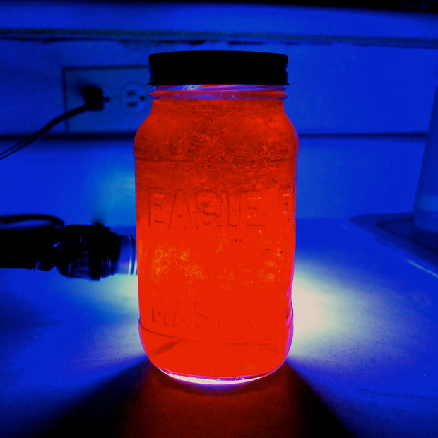 Glowing Jello Science Project