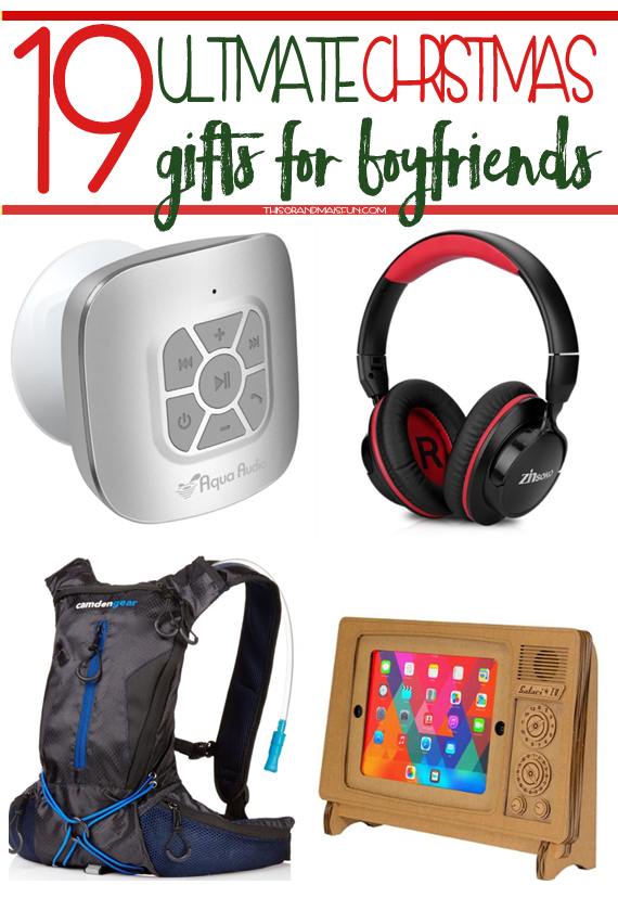19 Ultimate Christmas Gifts For Boyfriends TGIF This