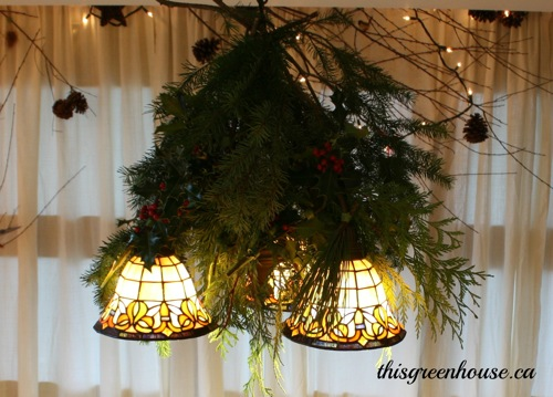 woodland light fixture