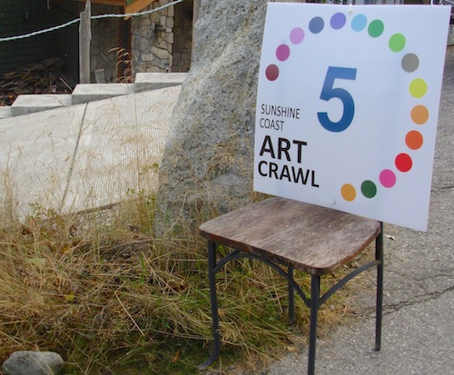 art crawl sign