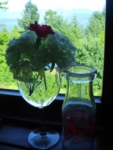 wine glass posie