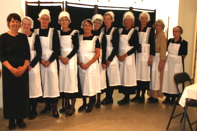 downton maids all in a row