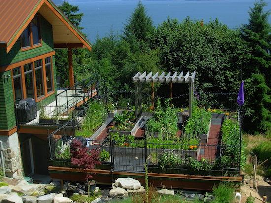 Gail Hunt Rooftop Garden