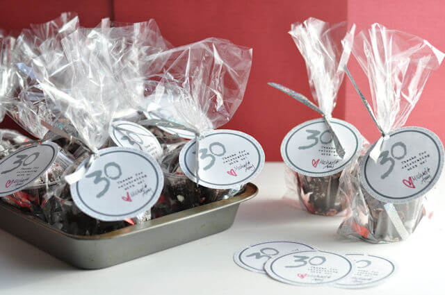 30th Birthday Party Favors O This Heart Of Mine