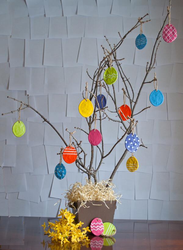 Salt Dough Easter Eggs ac1
