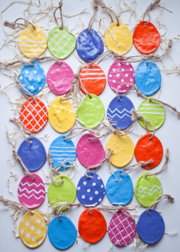 Salt Dough Easter Eggs ac2
