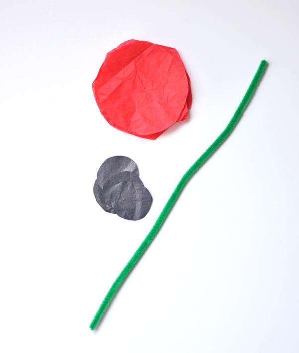 Tissue Flower Magnets 2