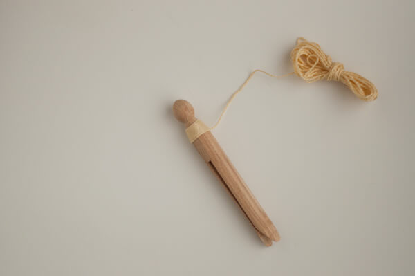 Clothespin Wrap Dolls 5