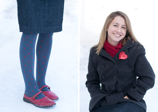 Make your own Heart Tights!   this heart of mine