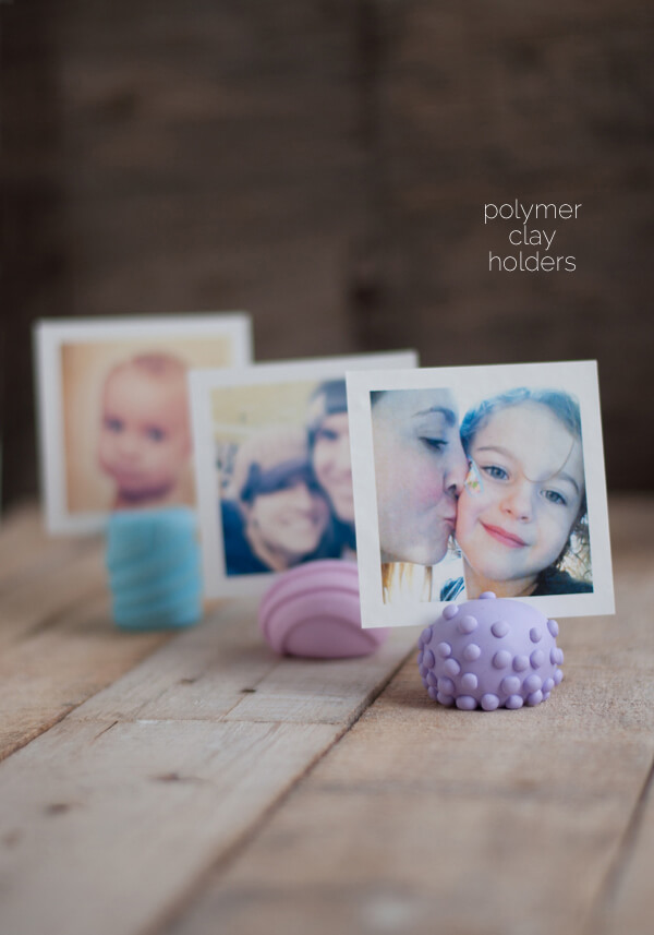 Polymer Clay Holders, for all your cool, little stuff! | this heart of mine