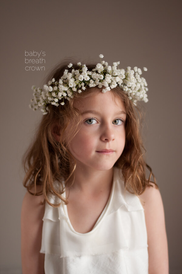 Baby S Breath Crown This Heart Of Mine
