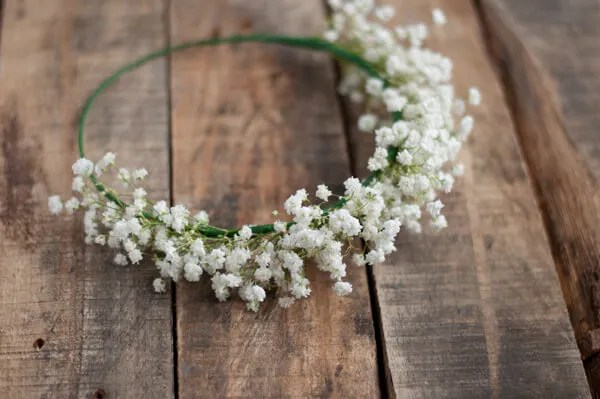Baby's Breath Crown | this heart of mine