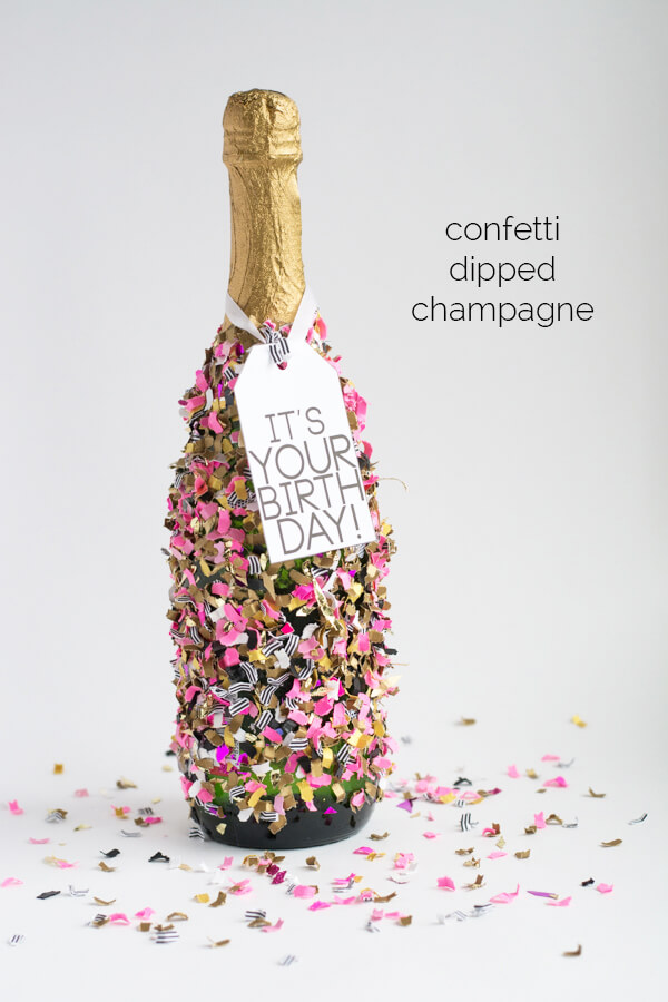 confetti dipped champagne this heart of mine. Black Bedroom Furniture Sets. Home Design Ideas