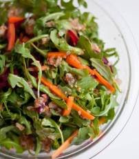 Arugala Salad with Homemade Dressing