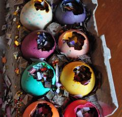 Confetti-Filled Fiesta Eggs