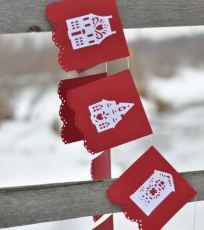 Cricut Christmas Garland