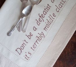 Downton Abbey Quote Napkins