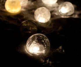 Ice Globe Luminary