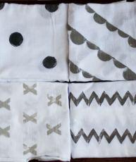 Stamped Towels Set