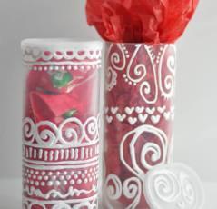 Up-Cycled Valentine Gift Box