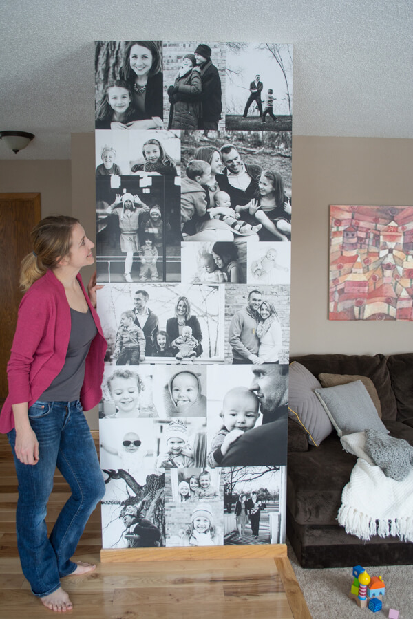 Make an Amazing Photo Wall in Your Home | this heart of mine
