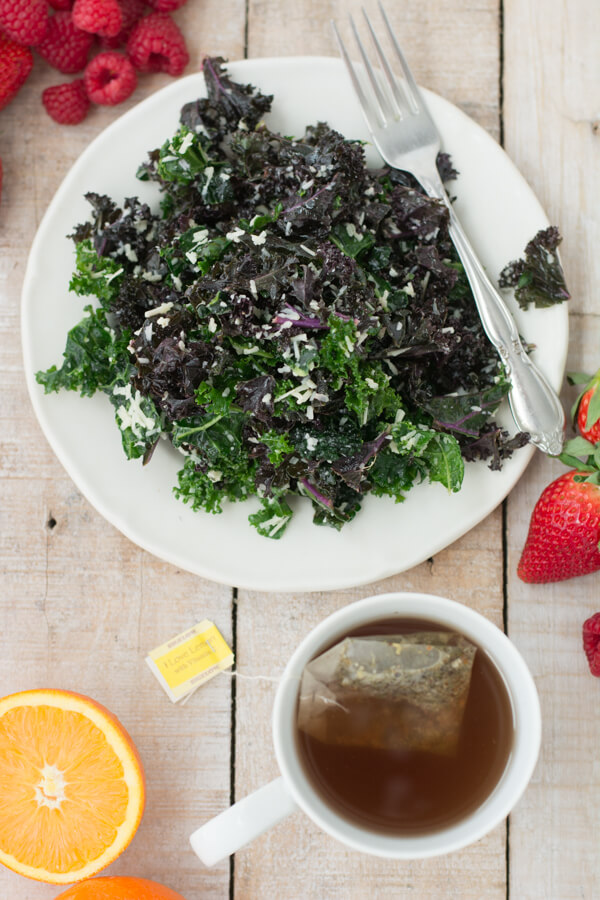 Lemon, Parm & Pecorino Want-To-Eat-It-All-The-Time Kale Salad | this heart of mine