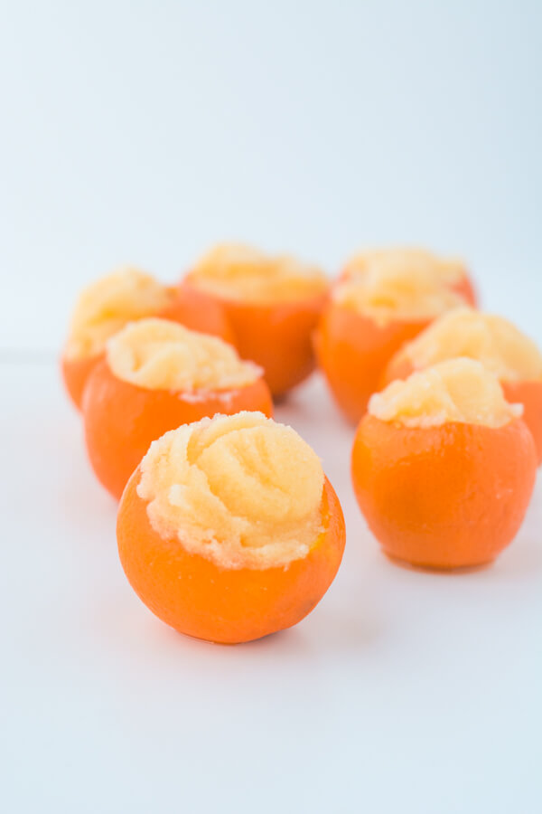 A Recipe for Clementine Sorbet: Colorful, Yummy & Easy ...