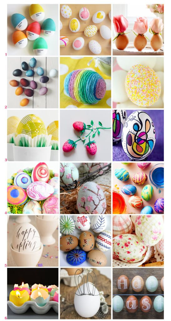 51 Artful Ways to Decorate Eggs This Easter