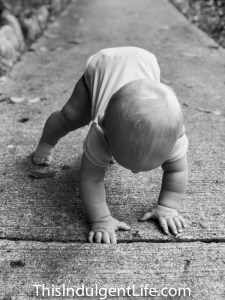5 Lessons My Son Taught Me By Learning To Walk | This Indulgent Life | life lessons | lessons from children | perseverance | gentle parenting | positive parenting | baby walking
