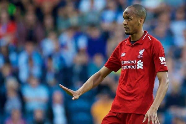 "Fabinho working hard in the background as he vies for ""important ..."