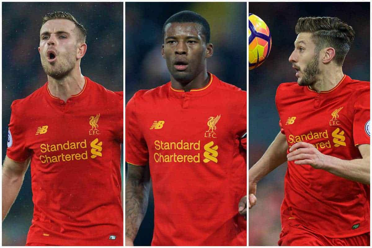 Image result for henderson can lallana wijnaldum